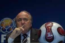 Zawieszony szef FIFA Sepp Blatter.