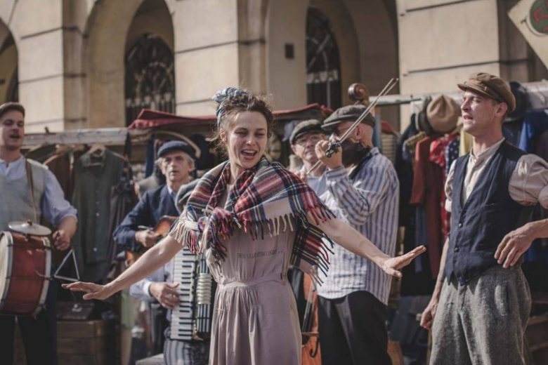 Matina Bocheńska na co dzień działa w grupie teatralnej Warszawiaki