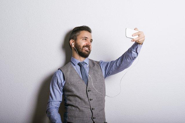 Przerwa na selfie.. w pracy?