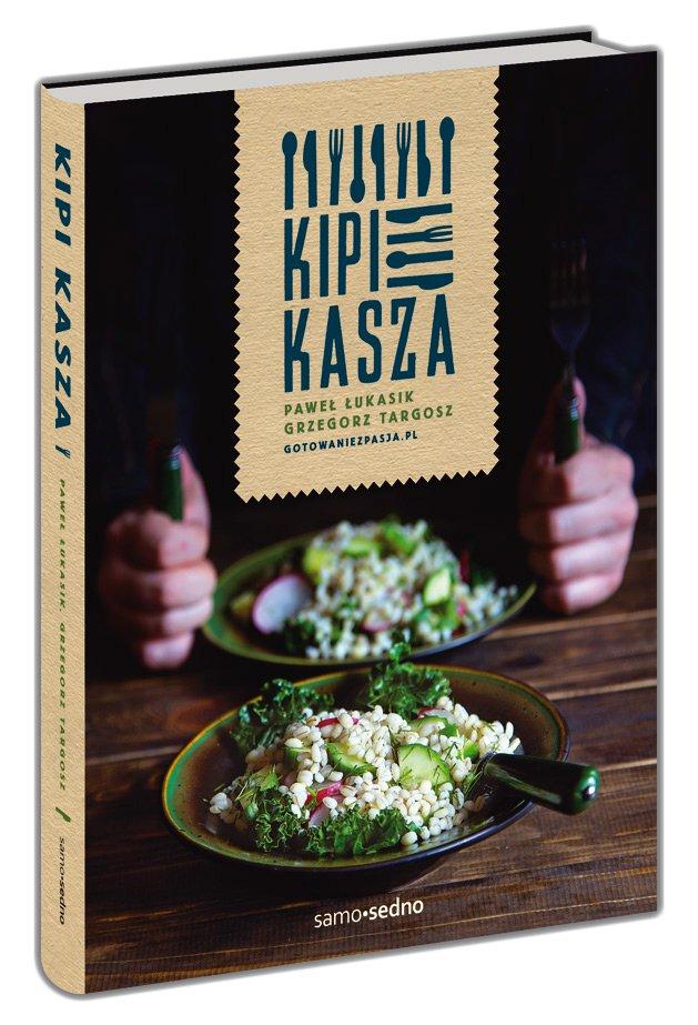 W książce znajdziecie ponad 100 przepisów na dania z kaszą w roli głównej.
