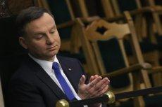 Andrzej Duda naraził się na kpiny.