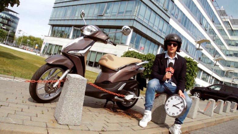 Krzysztof Majak testuje Piaggio Liberty ABS 125