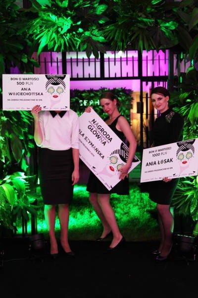 Trzy laureatki