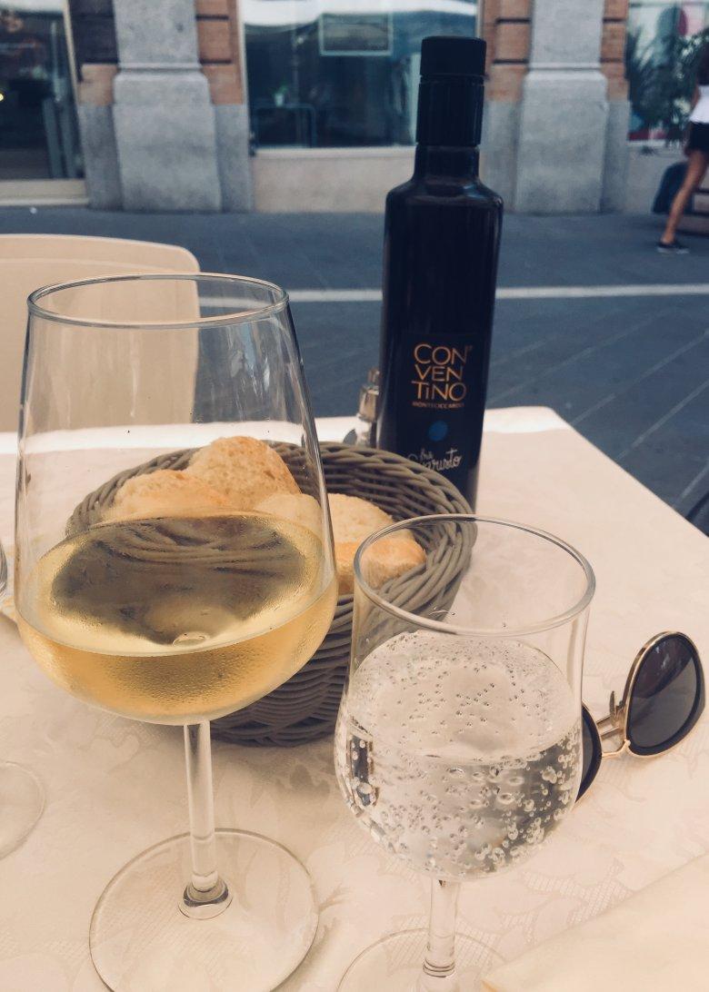 Leniwe popołudnie w Anconie