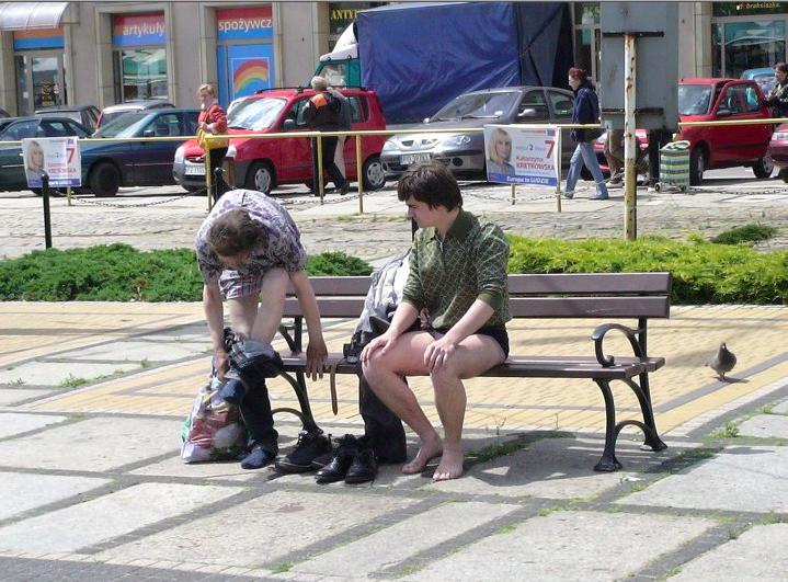 Franciszek Orłowski, Pocałunek miłości, 2010, pokaz slajdów, dzięki uprzejmości artysty, Centrum Sztuki Współczesnej Zamek Ujazdowski, fot. Orlowski Studio