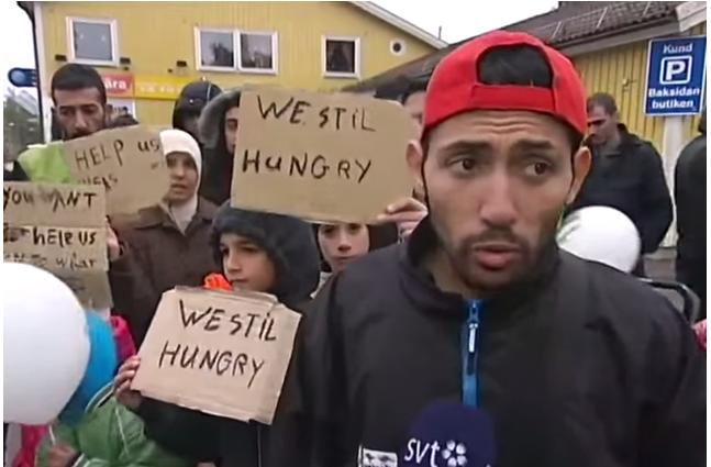 Migranci w Finlandii nie sązadowoleni. Nie smakują im posiłki.