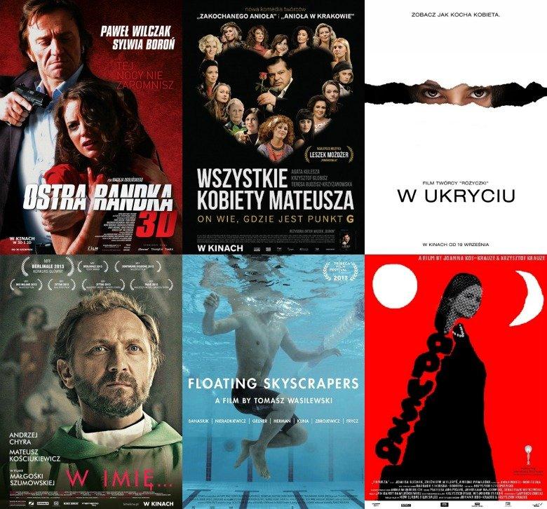 Plakaty polskich filmów