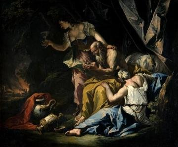 """Lot z córkami"" da Belluno"