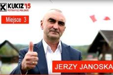Jerzy Janoska wieszał portrety europosłów na szubienicach. Teraz kandyduje w wyborach do PE.
