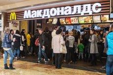 """Grozili, że zamkną i to zrobili. Cztery restauracje McDonald's w Rosji nieczynne. Powód? """"Uchybienia sanitarne"""""""