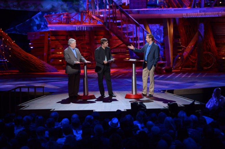 Debata podczas konferencji TED 2013.
