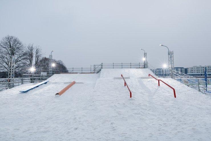 Snowpark będzie czynny przypuszczalnie aż do 12 marca. Amatorzy ekstremalnych sportów zimowych mają więc wiele tygodni, by czerpać z niego to, co najlepsze