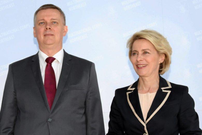 Tomasz Siemoniak nie kryje radości z wyboru Ursuli Von der Leyen na szefową Komisji Europejskiej.