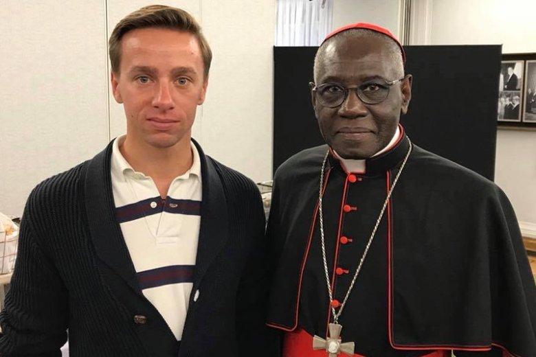 Były poseł i wiceszef Ruchu Narodowego Krzysztof Bosak identyfikuje się z poglądami kardynała Saraha