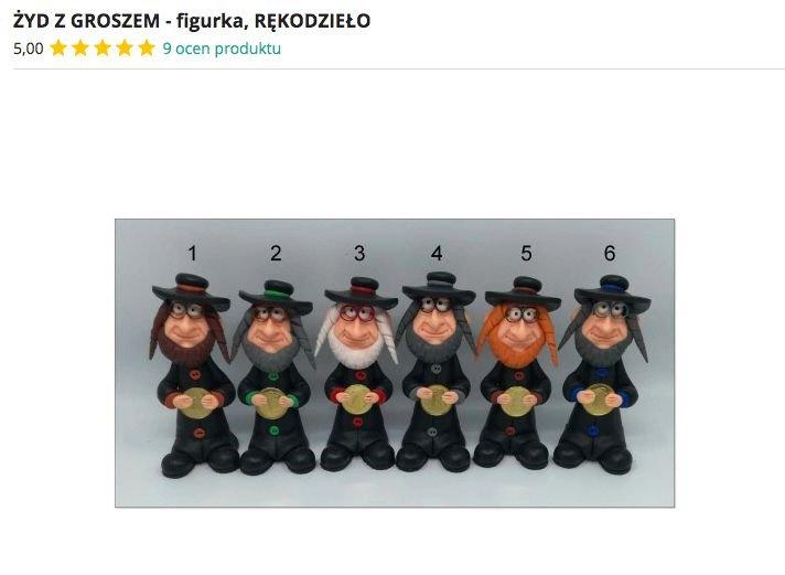 """Wersje """"Żydów z pieniążkiem"""" do wyboru, do koloru. Cena: 12 złotych plus koszt przesyłki"""