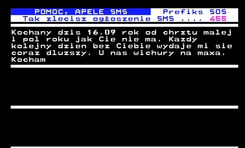 Krótkie wiadomości SMS w serwisie Telegazeta.pl