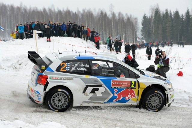 Jari-Matti Latvala, zwycięzca Rajdu Szwecji 2014