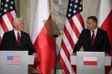 Wiceprezydent Mike Pence we wrześniu był w Warszawie. Wcześniej rząd mówił o wprowadzeniu podatku cyfrowego.