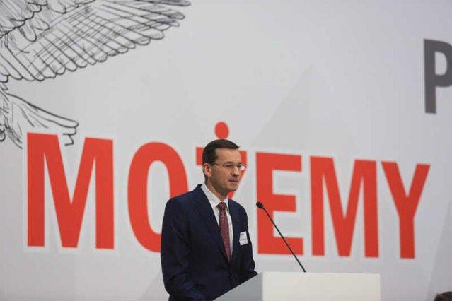 """Według Mateusza Morawieckiego """"możemy"""" wszystko."""