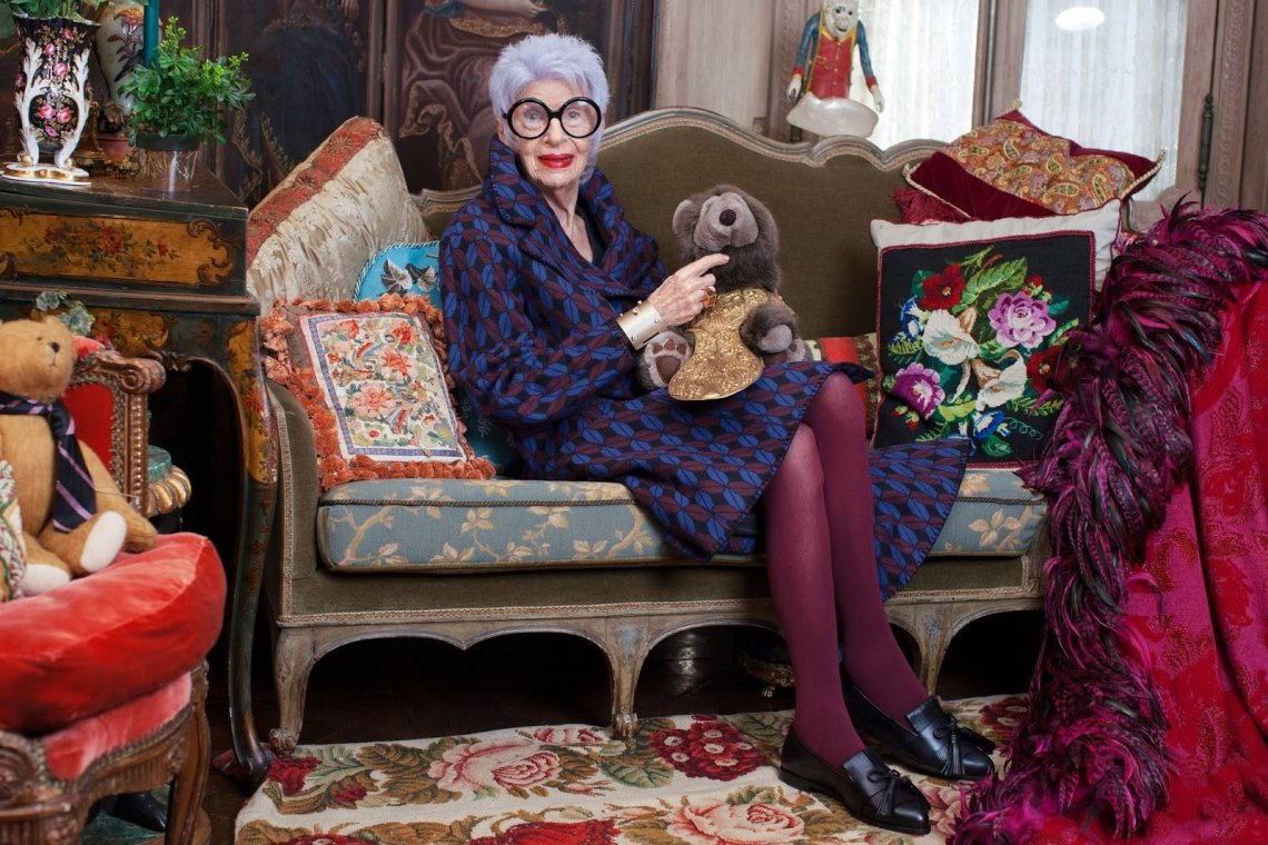 Iris Apfel sfotografował dla & Other Stories założyciel Advanced Style, Ari Seth Cohen.