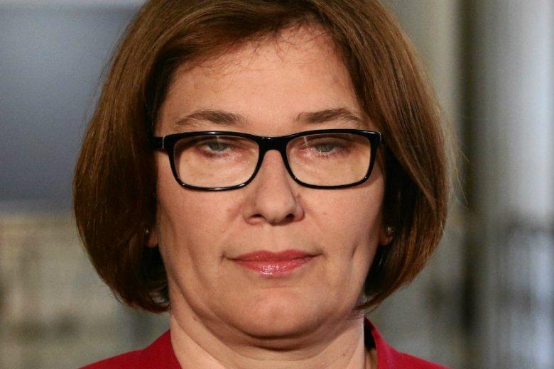 Beata Mazurek bagatelizuje doniesienia o Mateuszu Morawieckim w kontekście afery taśmowej.