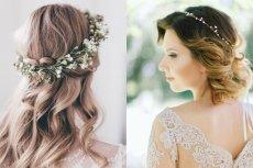 Wianki czy opaski to tylko niektóre ślubne  ozdoby do włosów