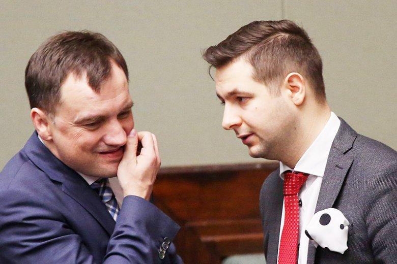 Czy Zbigniew Ziobro i Patryk Jaki będą musieli podać się do dymisji?