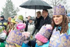 Prezydent Andrzej Duda przeszedł w Orszaku Trzech Króli w Wiśle.