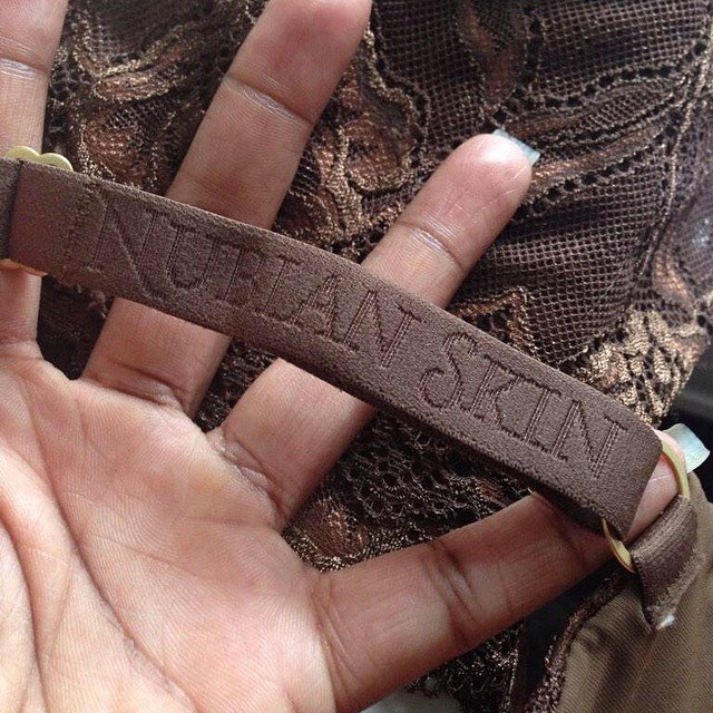 Fragment bielizny Nubian Skin.
