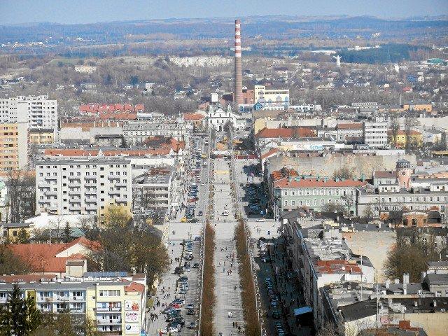 Panorama Częstochowy.