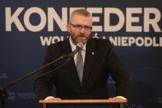 Grzegorz Braun zdobył ponad 30 tys. głosów na Podkarpaciu.