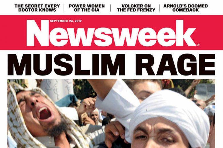 """Okładka jednego z wrześniowych """"Newsweeków"""""""