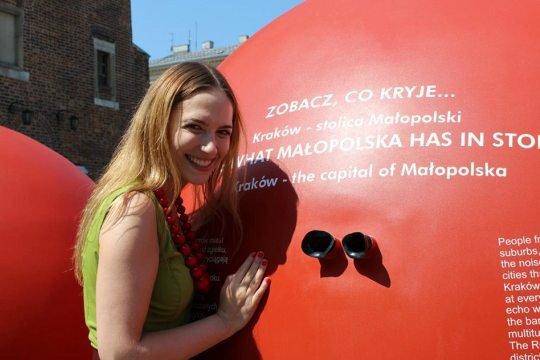 Anna Cieślak - ambasadorka marki Małopolskie