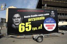 """""""Konwój wstydu"""" pojawi się do piątku 6 marca w każdym okręgu wyborczym w Polsce."""