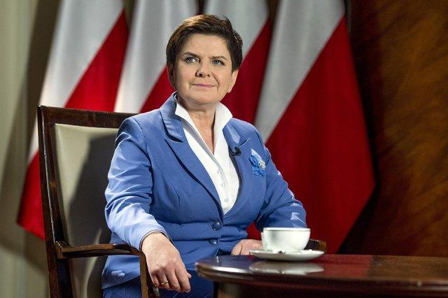 Premier Beata Szydło 14 listopada