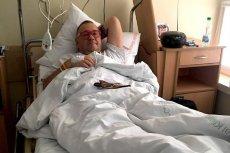 Jerzy Owsiak przeszedł operację kolana w szpitalu w Otwocku.