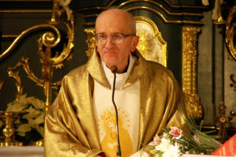 Ksiądz Marian Rajchel