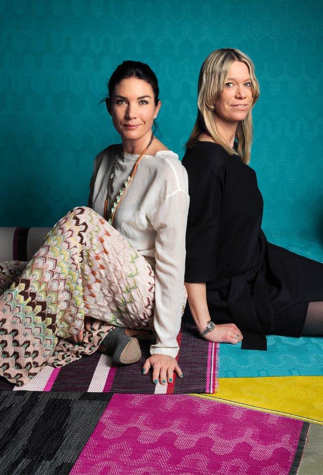 Annica i Marie Eklund, właścicielki marki Bolon