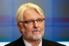 Witold Waszczykowski ciągle ma kłopoty przez wygranąTuska w Brukseli.