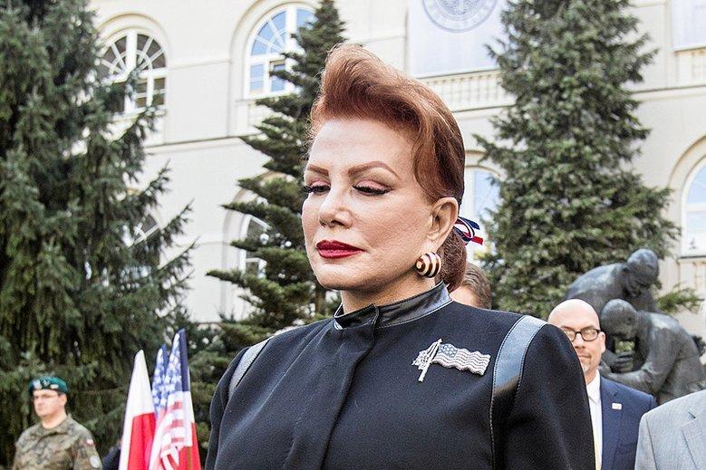 Georgette Mosbacher ponownie padła ofiarą hejtu i antysemityzmu.