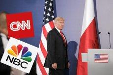 Donald Trump nie ukrywa swojej niechęci do niektórych mediów i mówi o tym publicznie.