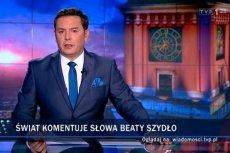 """""""Wiadomości"""" piały z zachwytu nad Szydło. Niesłusznie."""