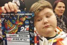16-letni Łukasz Berezak cierpi na chorobę Leśniowskiego-Crohna
