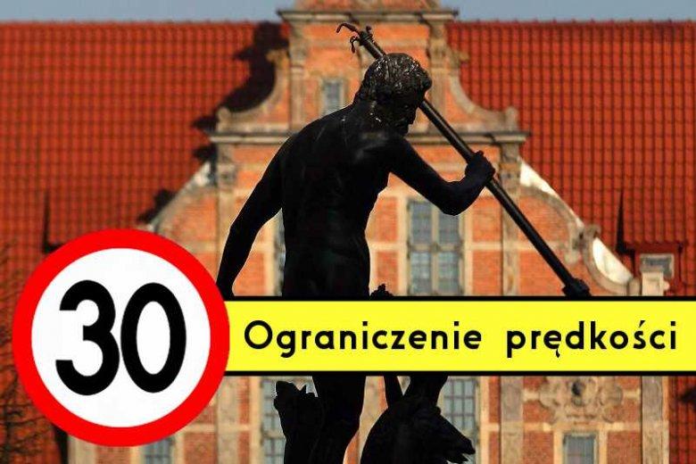W Gdańsku ograniczenie prędkości do 30 km/h ma objąć 80 proc. miasta