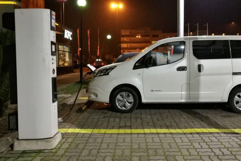 Elektryki to nie tylko samochody osobowe, ale i te mniejsze dostawcze.