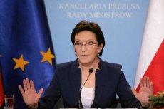Ewa Kopacz nie dotrzyma obietnicy zajęcia się przez Sejm związkami partnerskimi.