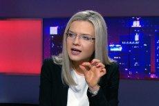 Małgorzata Wassermann w Polsat News przegraną z Donaldem Tuskiem odreagowała atakiem na Romana Giertycha.