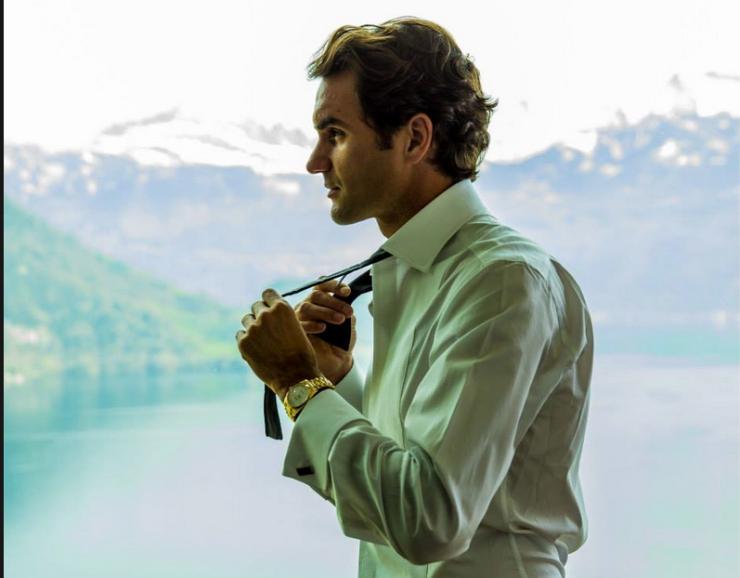 Roger Federer, jeden z najlepszychy tenisistów w historii, jest ambasadorem marki ROLEX.