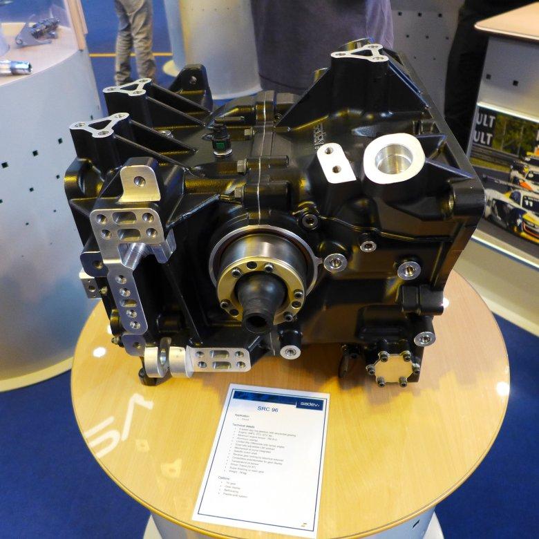 Francuski Sadev to konkurent angielskiego Hewlanda w dziedzinie produkcji wyczynowych skrzyń biegów