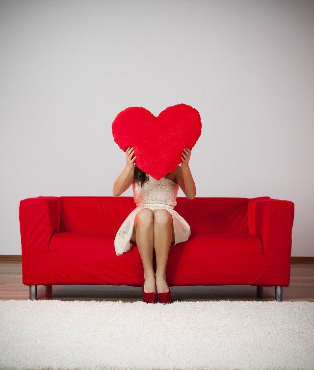 W Walentynki nie powinnaś stronić od różu i czerwieni - to mocne, kobiece kolory!